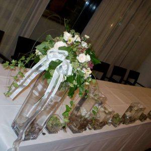 dekoracija stola za mladence 4SM