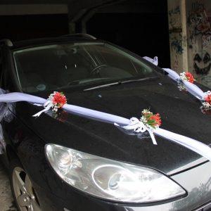 Dekoracija auta za Vjenčanje 1DA