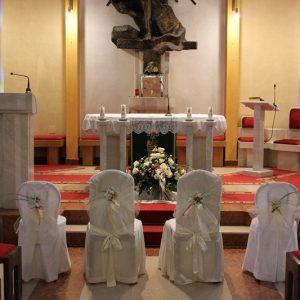 Dekoracija crkve - stolice 5DC