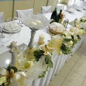 Dekoracija stola za mladence 5SM