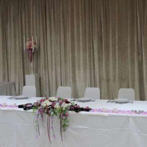 Dekoracija stola za mladence 6SM