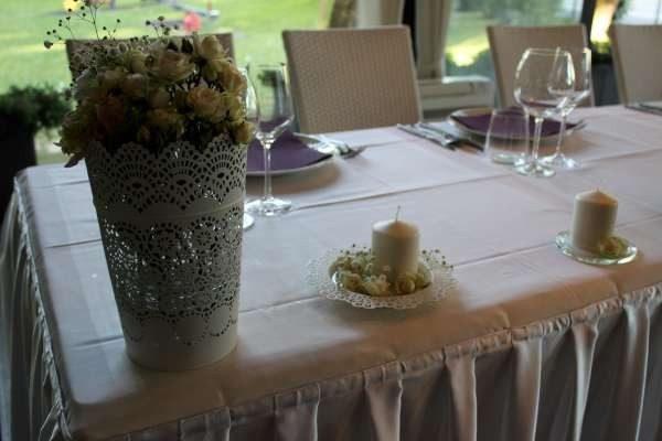Dekoracija stola za mladence 7SM