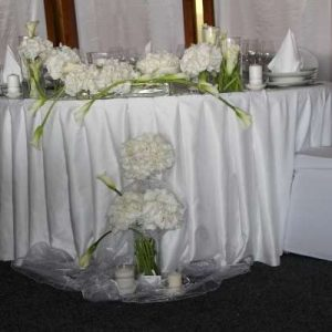 Dekoracija stola za mladence 8SM